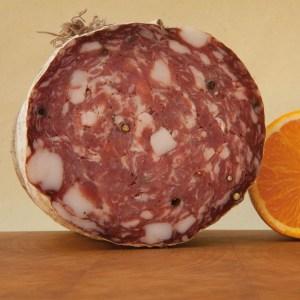 salame toscano lardellato alla cinta s bio da circa 35 kg da 35 kg c077 1.1