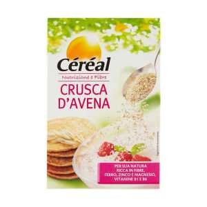 cereal nutrizione e fibre crusca d avena 400 g