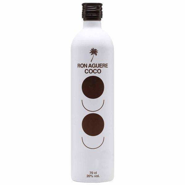 rum al cocco licor de ron aguere