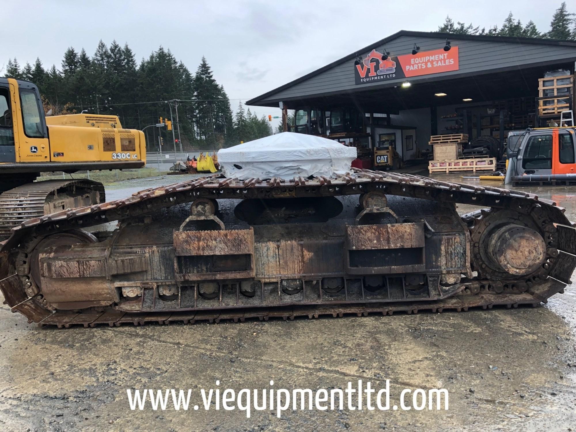 hight resolution of cat 330d log loader complete bottom