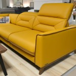 Stylized Retro Corner Sofa