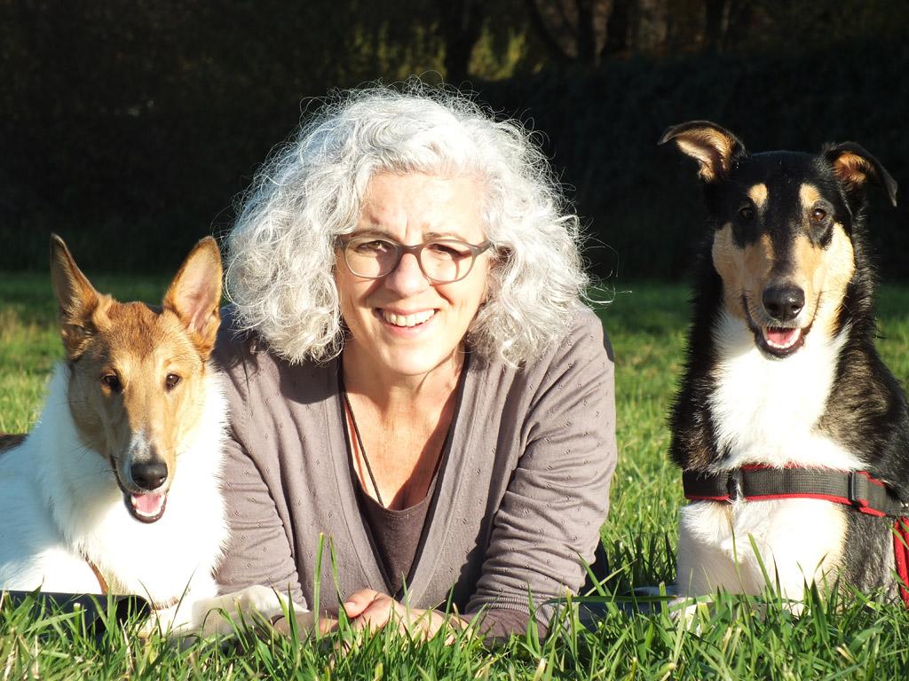 Foto Ulla mit Trude und Kalle
