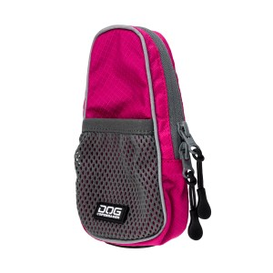 Dog Copenhagen Pouch Organizer Leash Bag Roze
