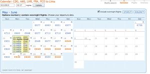 7. Calendar zboruri