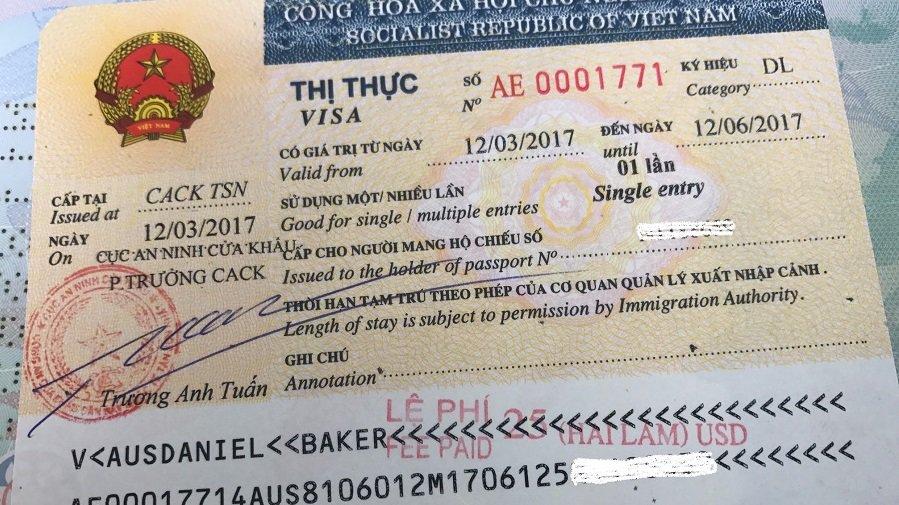 Vietnam Visa Types and Validity – 20 Main Categories 2019