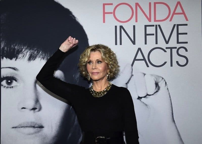 Jane Fonda on HBO film, and Ken Burns' Vietnam War documentary: 'I can't stand it'