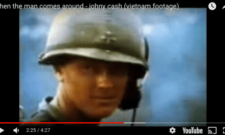 Johnny Cash – When the Man Comes Around (VIETNAM FOOTAGE)