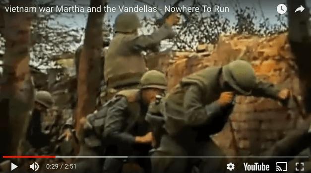 Martha and the Vandellas – Nowhere To Run | Vietnam Footage