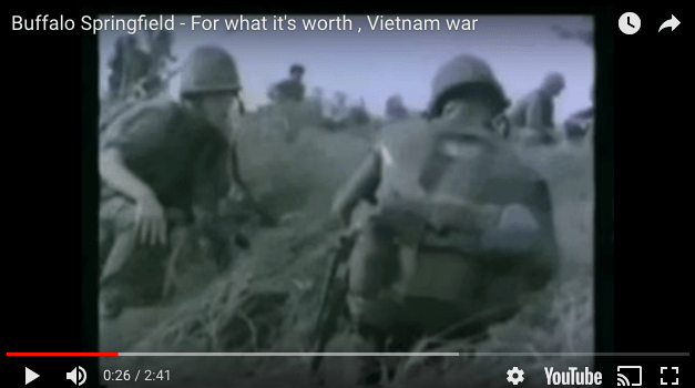 Buffalo Springfield – For What it's Worth, Vietnam Footage
