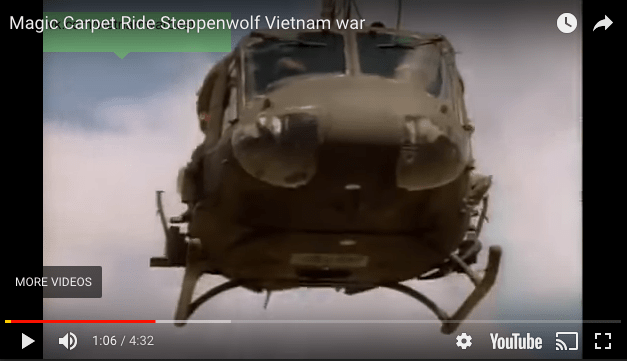 Magic Carpet Ride – Steppenwolf with Vietnam Footage