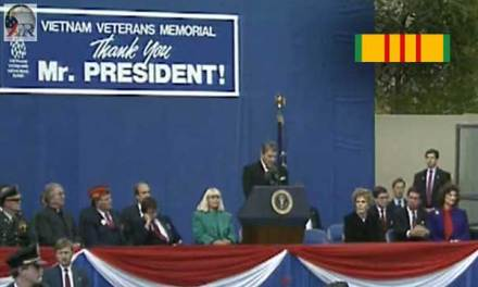 Ronald Reagan: Speech at the Vietnam Veterans Memorial