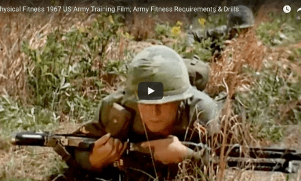 Physical Fitness 1967 US Army Training Film; Army Fitness Requirements & Drills