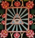 シンボルマークの天眼