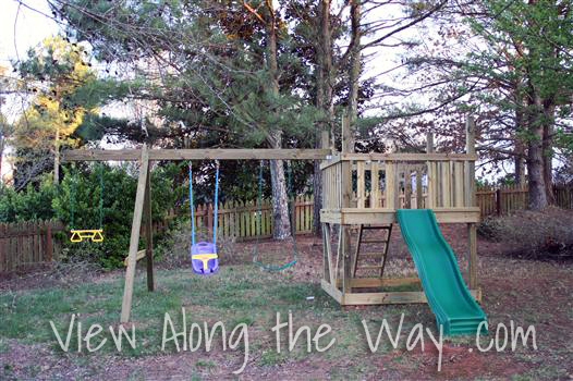 do it yourself wooden playground plans
