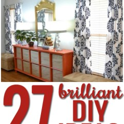 How To Make Living Room Curtains Pictures Of Furniture Your Own 27 Brilliant Diy Ideas And Tutorials Creative Curtain Rods So Many Inspiring
