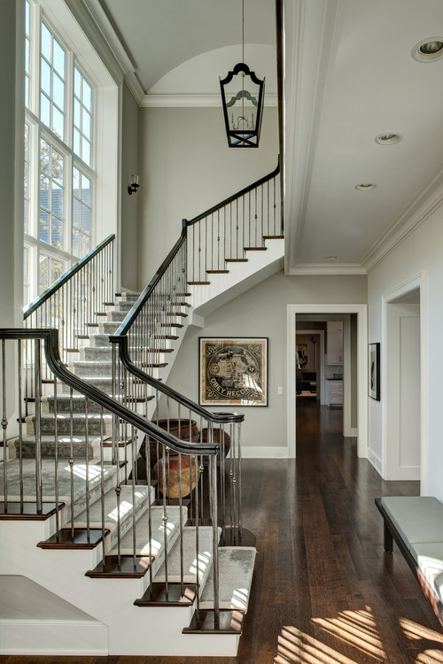 How To Install Iron Balusters View Along The Way | Wrought Iron Stair Railing Near Me | Steel | Spindles | Wood | Front Porch Railings | Stair Spindles