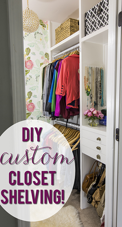 Build Your Own Custom Closet Shelving