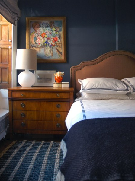 indigo navy blue bedroom Best Navy Blue Paint Colors