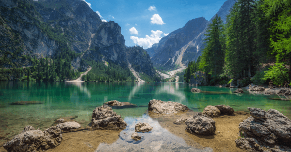 Braies Lake Italy
