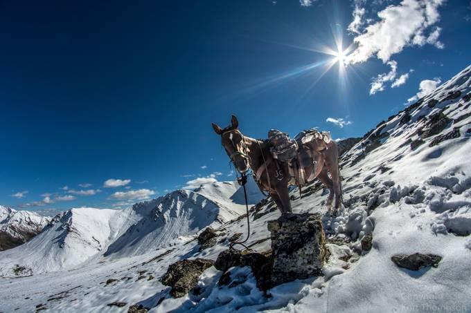 Blitz on a mountain by kurtthompson - Unieke locaties fotocompetitie