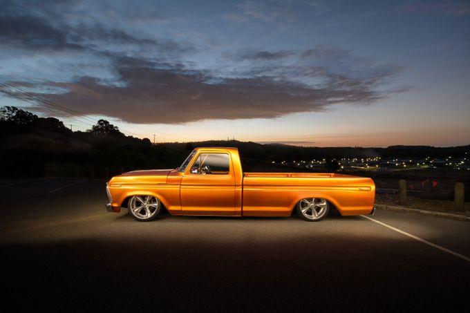 ford truck by schrammy - Orange Tones Photo Contest