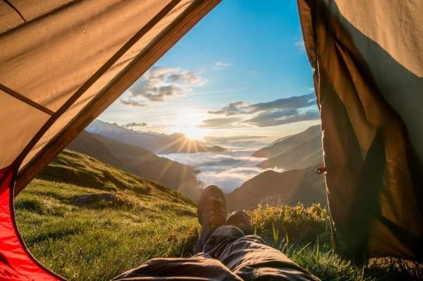 Morning Sunrise View