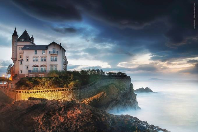 Villa-Belza Biarritz / Pays basque by thierrydulau - The Wonders of the World Photo Contest