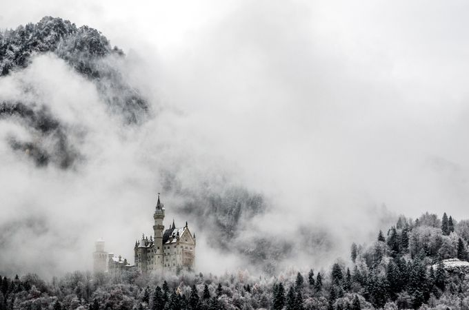 Kasteel Neuschwanstein door marcocortezcortese - Unieke locaties Fotowedstrijd