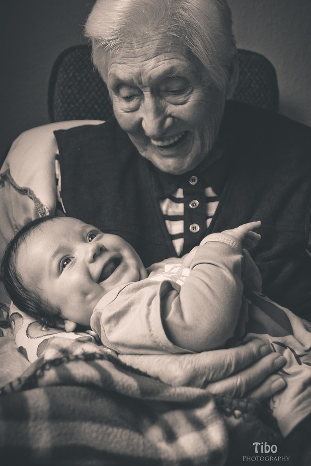 great grandma with great grandson ♥ by Celtic - Love Photo Contest 2019