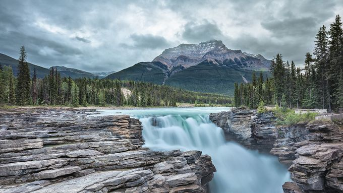Athabasca Falls by pixadeleon - Canada Photo Contest
