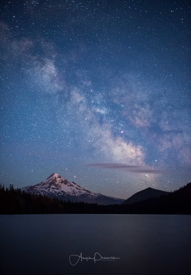 Mt. Hood Milkyway by Aflorer - The Wonders of the World Photo Contest