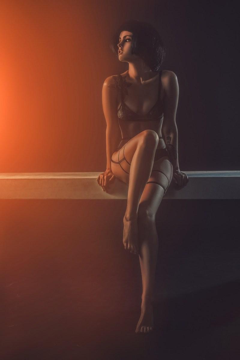 Anastasiya by klepikovadaria - Orange Tones Photo Contest