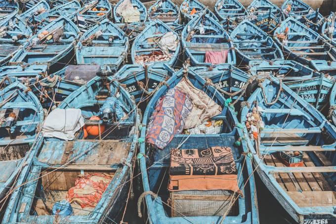 Moroccan Shipyard by lukegram