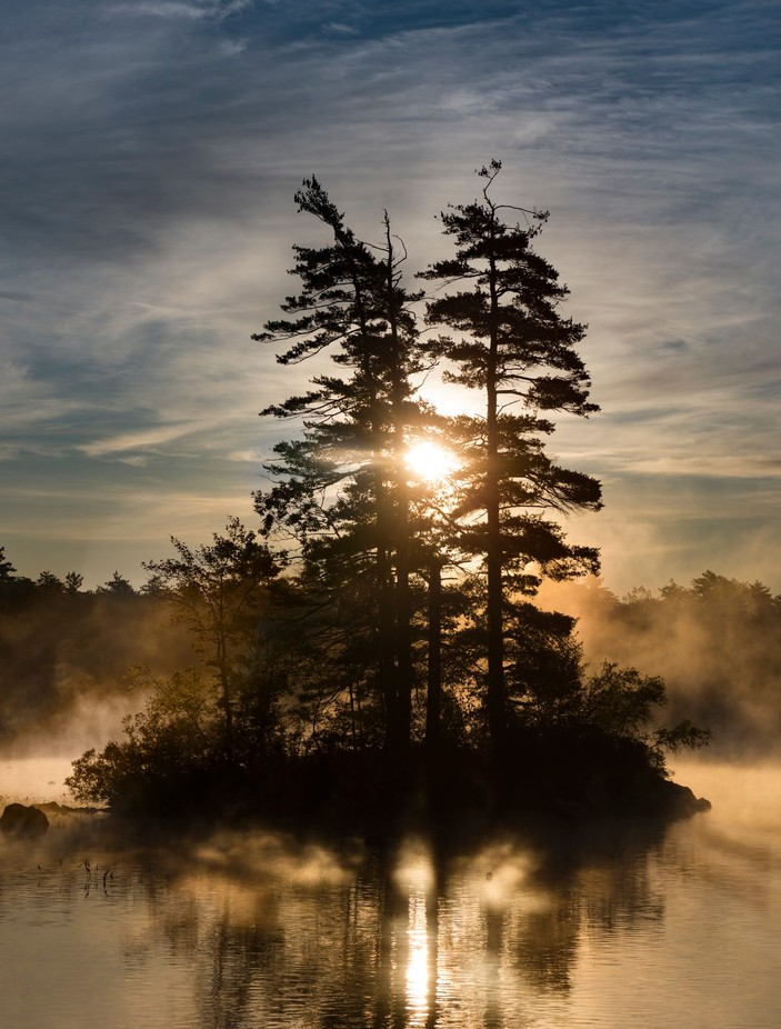 Sunrise Over Moose Pond by ConorEgan - Celebrating Nature Photo Contest Vol 5