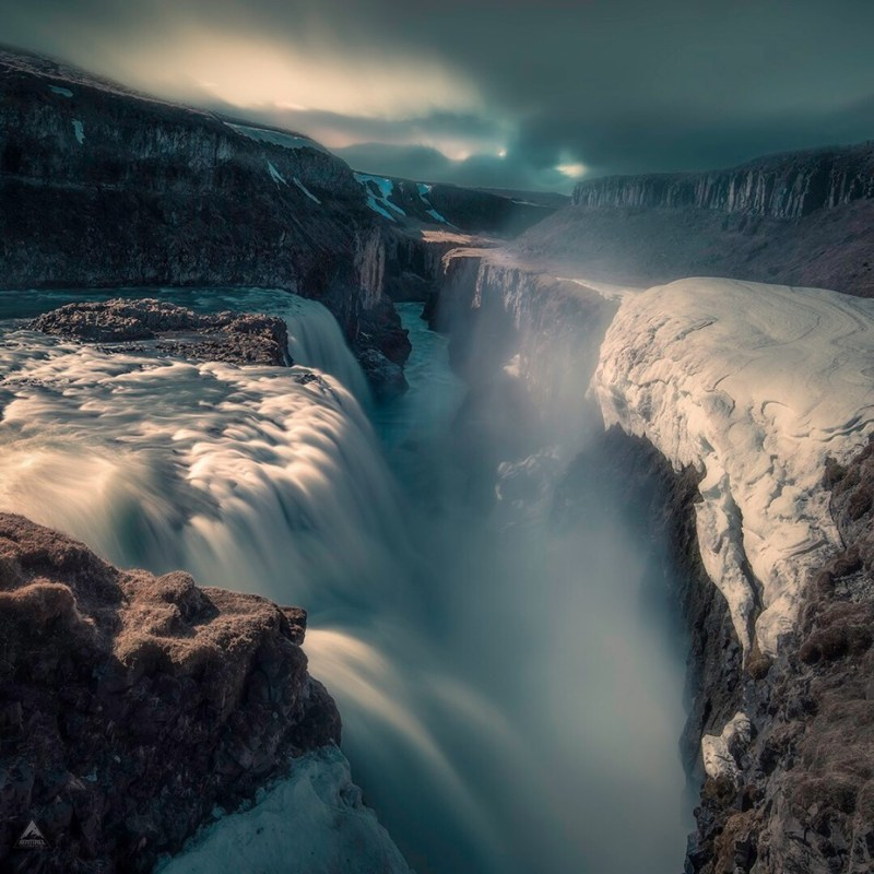 Gullfoss in Iceland by Sentinelphotography - The Wonders of the World Photo Contest