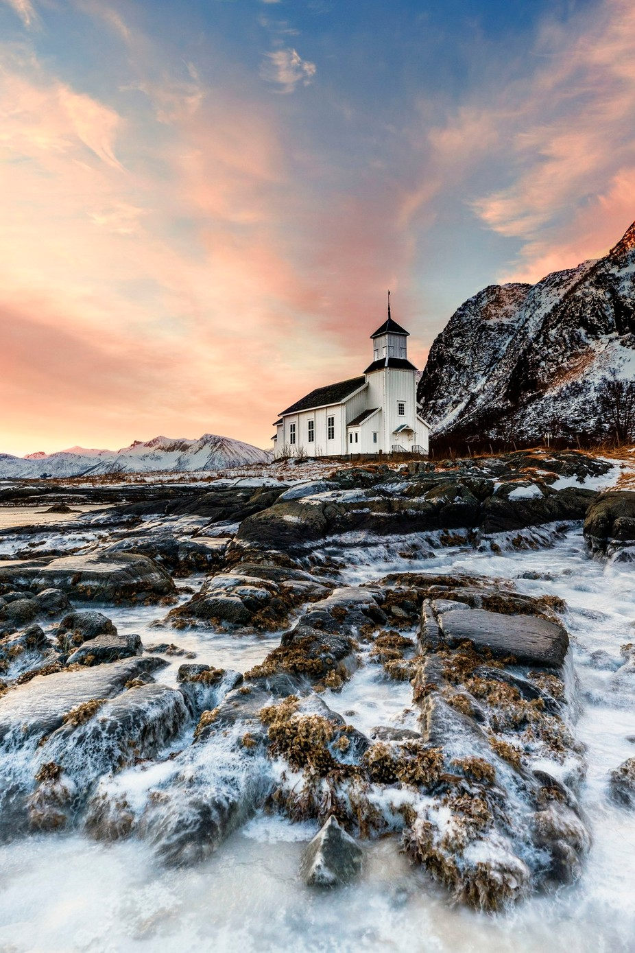 Little White Church by lddove - The Wonders of the World Photo Contest