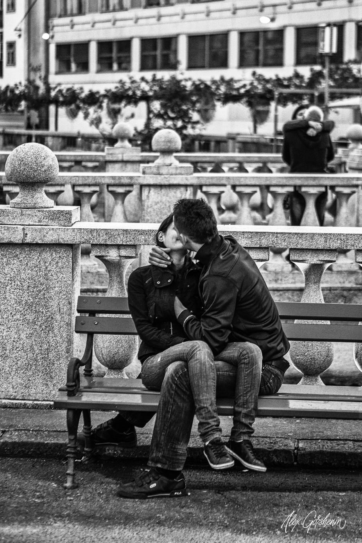 kisses on the Triple Bridge by alexey_gorshenin - Love Photo Contest 2019