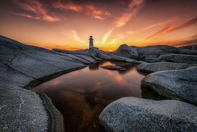 Peggys cove light house by glennbernasol - Canada Photo Contest