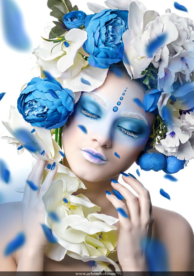 Contemporary Portrait  by ArberElezi - The Blue Color Photo Contest 2018