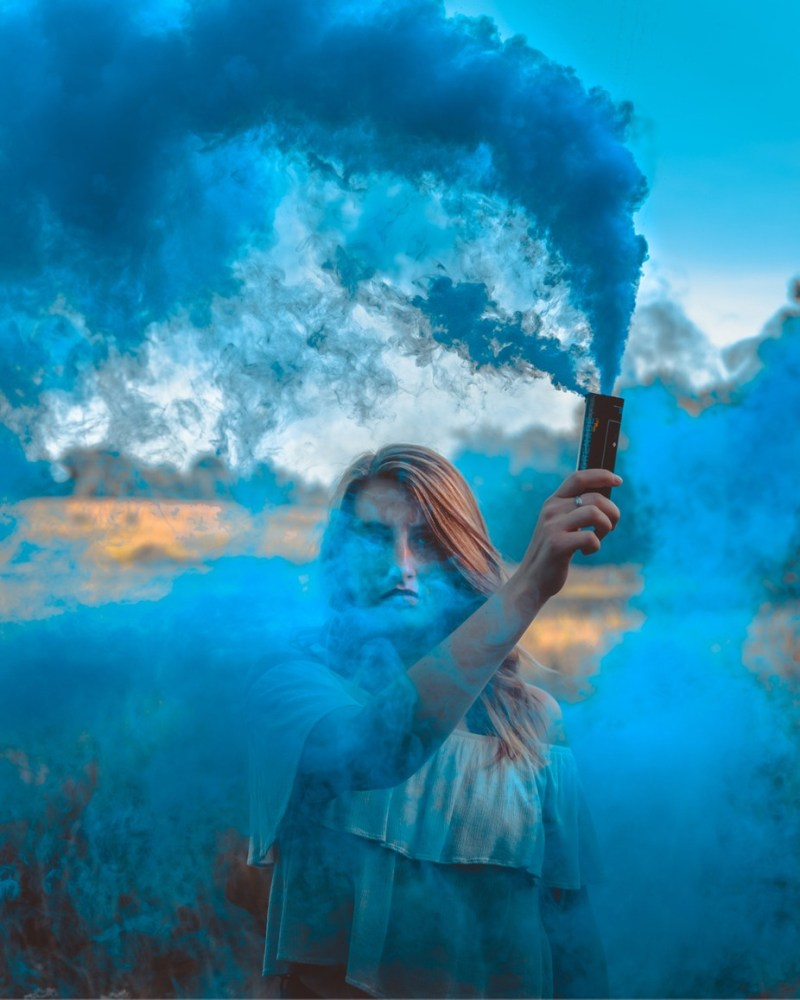 by jacksonmann_3918 - The Blue Color Photo Contest 2018