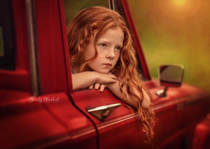 Daydreaming by judyhurley - Orange Tones Photo Contest