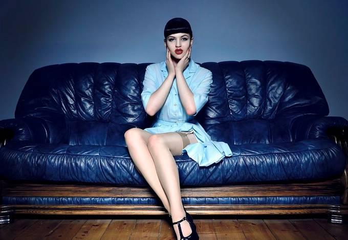 Lizzie by Fidster_Arfon - The Blue Color Photo Contest 2018