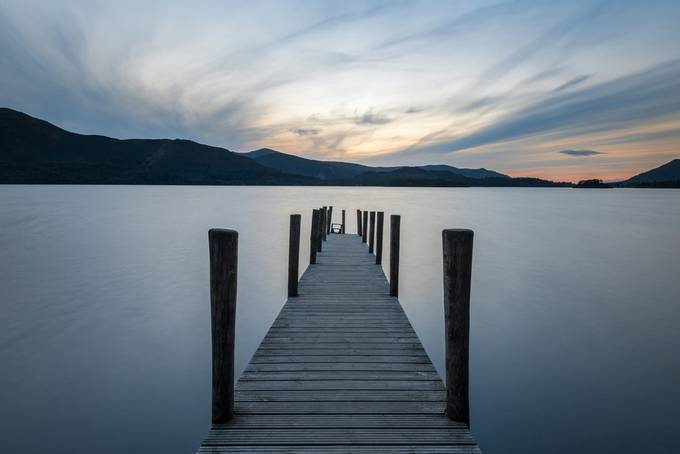 Ashness Gate Jetty at Sunset by alanwsmith - Monthly Pro Photo Contest Vol 45