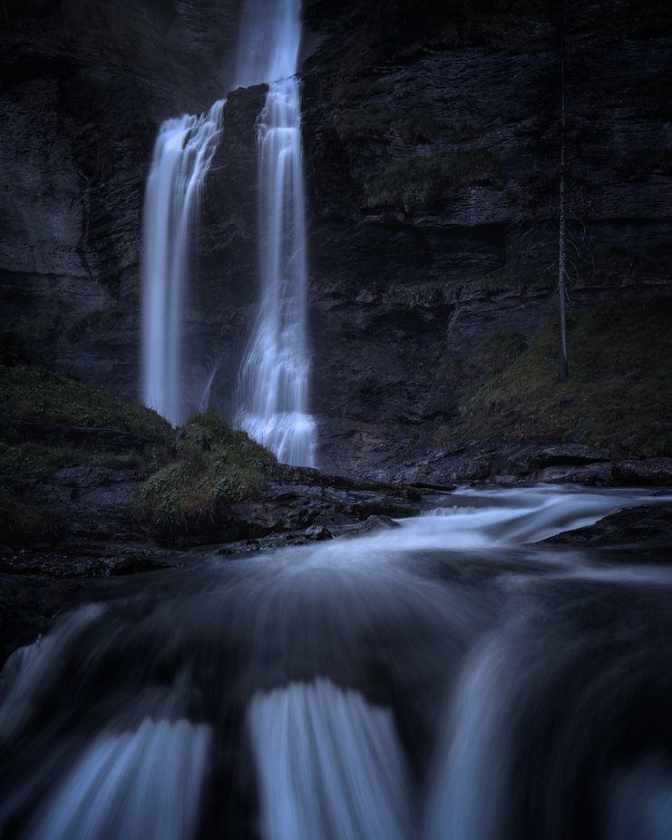 Cascade De Rouget by bengreenphotography - Image Of The Month Photo Contest Vol 37