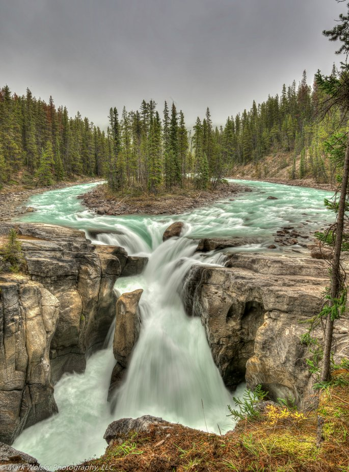 Sunwapta Falls - Jasper NP by MWPhotography2 - Canada Photo Contest
