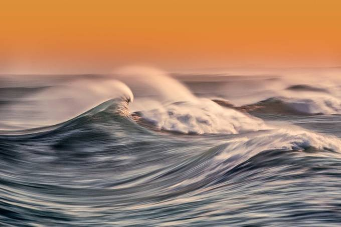 Slow Waves - South Beach - Ballina by dallasnock_photography - Image Of The Month Photo Contest Vol 37