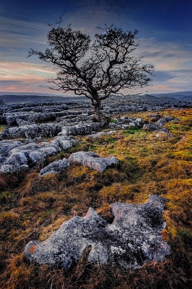 The Dales at Dusk by grantspurr - Image Of The Month Photo Contest Vol 37