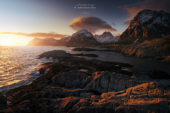 Lofoten Lights by albertoalvaro - Image Of The Month Photo Contest Vol 37