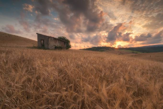 Sunset at Sasso di Furbara by Gilmour82 - Monthly Pro Photo Contest Vol 45