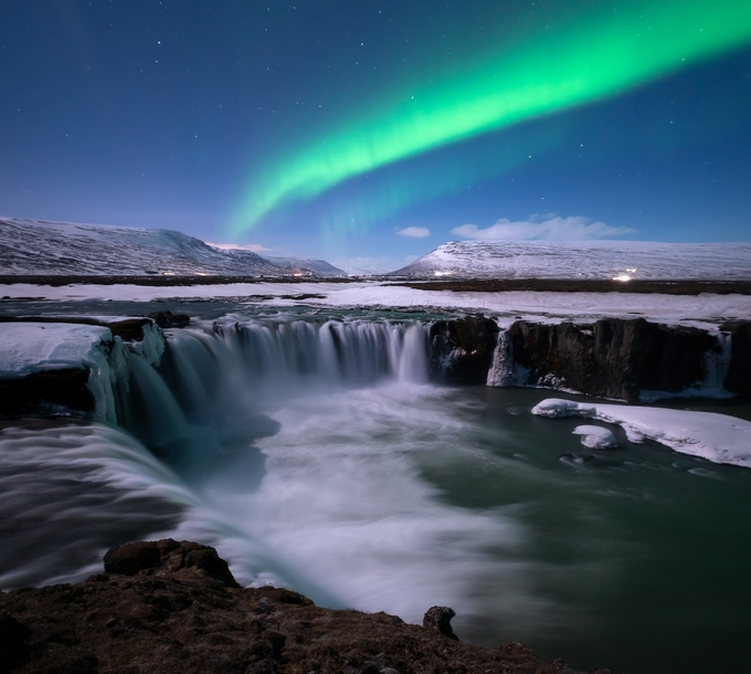 Godafoss aurora by madspeteriversen - Monthly Pro Photo Contest Vol 45